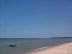 Lake Michigan looking toward Ludington